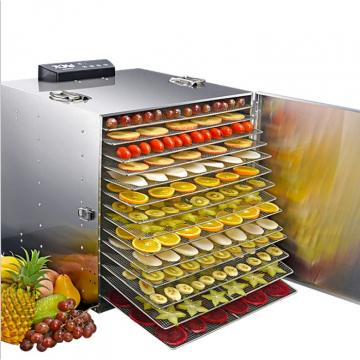 Industrial Flower Mushroom Vegetable Drying Food Fruit Dehydrator Machine