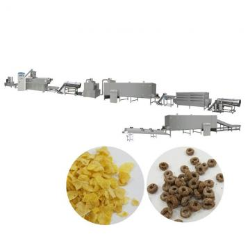 Professional Corn Flakes Breakfast Cereals Snack Food Making Machine
