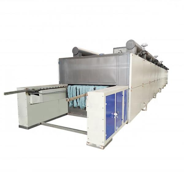 Hemp Continuous Herbs Belt Dryer Drying Machine