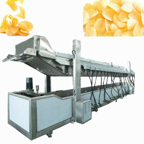 Dayi Fully Automatic Fried Potato Chips Snack Making Machine