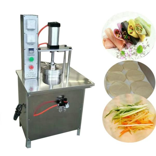 Food Machine/ Stainless Steel Small Size Roti Chapati Tortilla Dumpling Dough Wrapper Maker